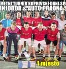 """Odlična organizacija malonogometnog turnira """"Koprivski dani sporta 2018"""""""