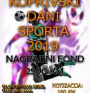 Večeras počinje malonogometni turnir Koprivski dani sporta 2019